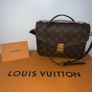 2019 Louis Vuitton Pouchette Metis Monogram**NEW**